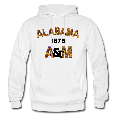 Alabama A&M University (AAMU) Rep U Heritage Adult Hoodie - white