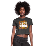 Rep U HBCU Pride Women's Cropped T-Shirt - deep heather