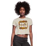 Rep U HBCU Pride Women's Cropped T-Shirt - dust