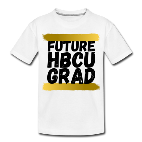 Rep U Future HBCU Grad Toddler T-Shirt - white