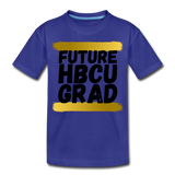 Rep U Future HBCU Grad Toddler T-Shirt - royal blue