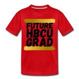 Rep U Future HBCU Grad Toddler T-Shirt - red
