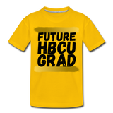 Rep U Future HBCU Grad Toddler T-Shirt - sun yellow
