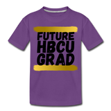 Rep U Future HBCU Grad Toddler T-Shirt - purple