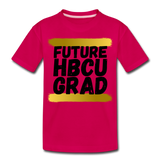 Rep U Future HBCU Grad Toddler T-Shirt - dark pink