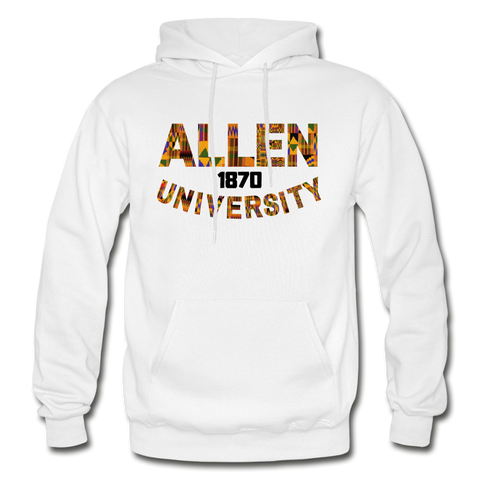 Allen University Rep U Heritage Adult Hoodie - white