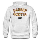 Barber-Scotia College Adult Hoodie - light heather gray