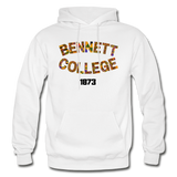 Bennett College for Women Rep U Heritage Adult Hoodie - white
