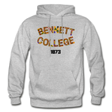 Bennett College for Women Rep U Heritage Adult Hoodie - heather gray