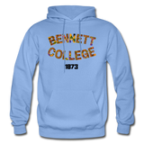 Bennett College for Women Rep U Heritage Adult Hoodie - carolina blue