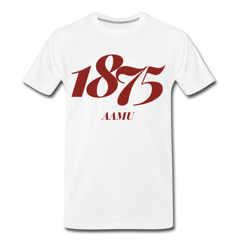 Alabama A&M University (AAMU) Rep U Year T-Shirt - white