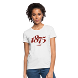 Alabama A&M University (AAMU) Rep U Year Women's T-Shirt - white