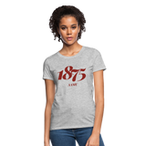 Alabama A&M University (AAMU) Rep U Year Women's T-Shirt - heather gray