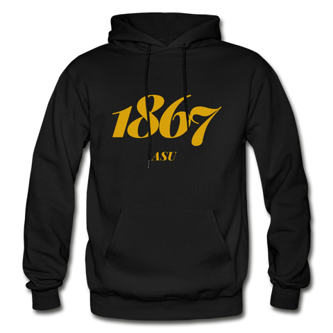 Alabama State University Rep U Year Adult Hoodie - black