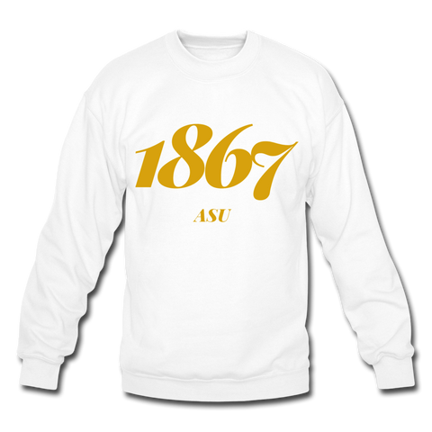 Alabama State University Rep U Year Crewneck Sweatshirt - white