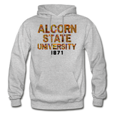 Alcorn State University Rep U Heritage Adult Hoodie - heather gray