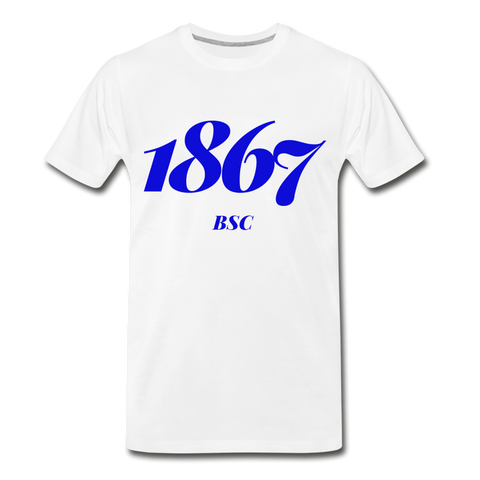 Barber-Scotia College Rep U Year T-Shirt - white