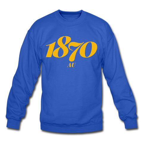 Allen University Rep U Year Crewneck Sweatshirt - royal blue
