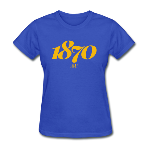 Allen University Rep U Year Women's T-Shirt - royal blue