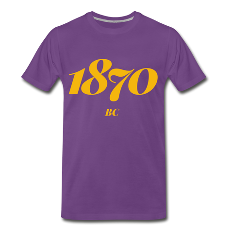 Benedict College Rep U Year T-Shirt - purple