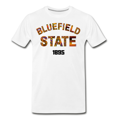 Bluefield State College Rep U Heritage T-Shirt - white
