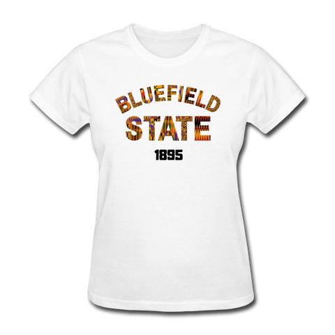Bluefield State College Rep U Heritage Women's T-Shirt - white