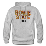 Bowie State University Rep U Year Adult Hoodie - heather gray