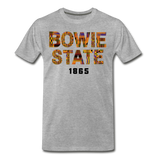 Bowie State University Rep U Year T-Shirt - heather gray
