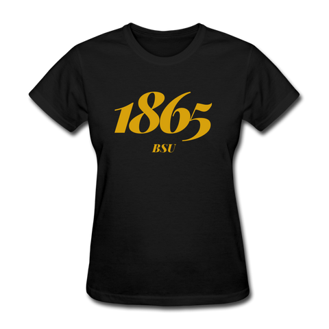 Bowie State University Rep U Year Women's T-Shirt - black
