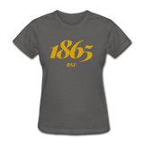 Bowie State University Rep U Year Women's T-Shirt - charcoal
