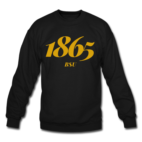 Bowie State University Rep U Year Crewneck Sweatshirt - black