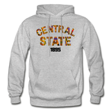 Central State University Rep U Heritage Adult Hoodie - heather gray
