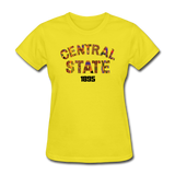 Central State University Rep U Heritage Women's T-Shirt - yellow
