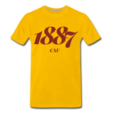 Central State University Rep U Year T-Shirt - sun yellow