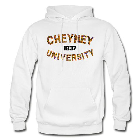 Cheyney University Rep U Heritage Adult Hoodie - white