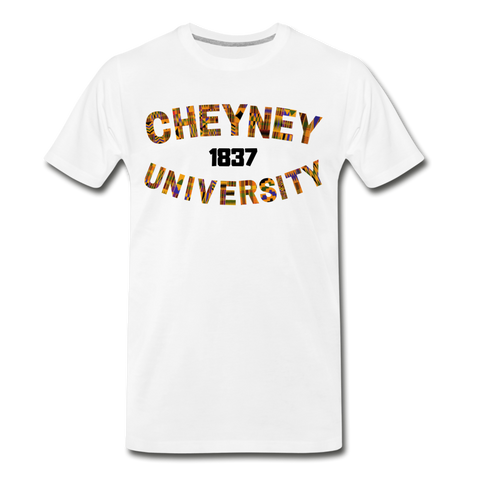 Cheyney University Rep U Heritage T-Shirt - white