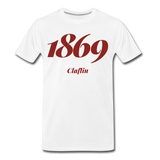Claflin University Rep U Year T-Shirt - white