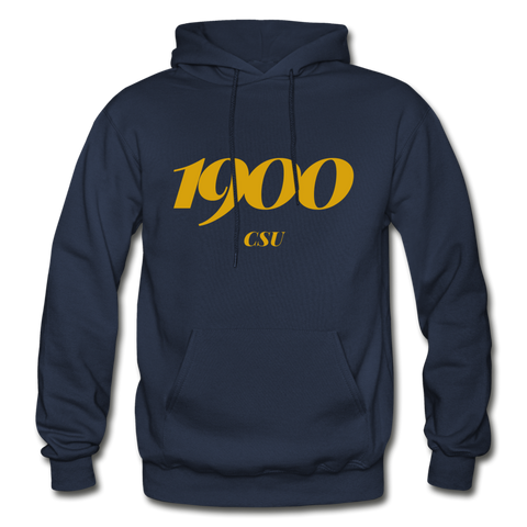 Coppin State University Rep U Year Adult Hoodie - navy