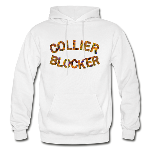 Collier-Blocker Junior College Rep U Heritage Adult Hoodie - white