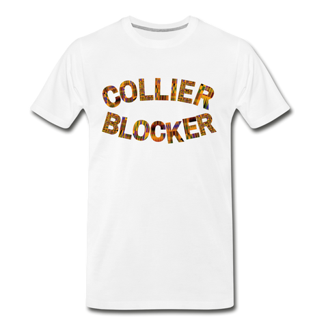 Collier-Blocker Junior College Rep U Heritage T-Shirt - white