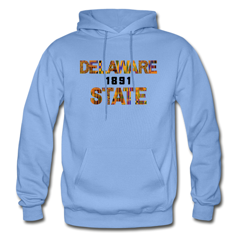Delaware State University Rep U Heritage Adult Hoodie - carolina blue
