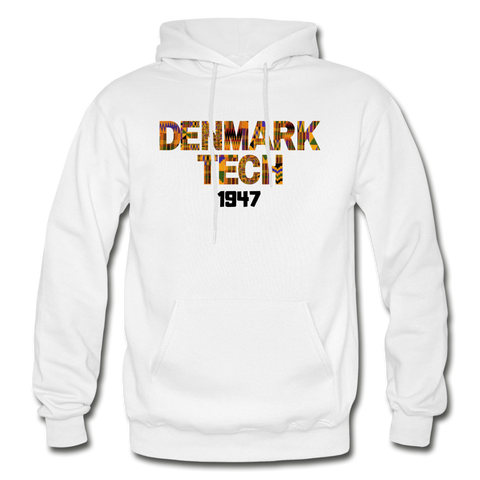 Denmark Technical College Rep U Heritage Adult Hoodie - white