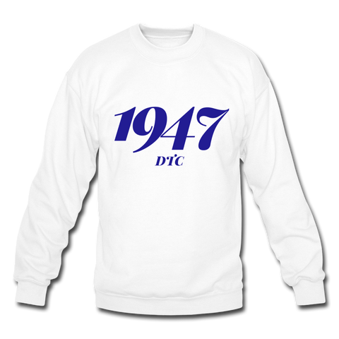 Denmark Technical College Rep U Year Crewneck Sweatshirt - white
