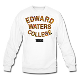 Edward Waters College Rep U Heritage Crewneck Sweatshirt - white