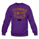 Edward Waters College Rep U Heritage Crewneck Sweatshirt - purple