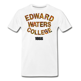 Edward Waters College Rep U Heritage T-Shirt - white