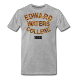 Edward Waters College Rep U Heritage T-Shirt - heather gray