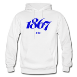 Fayetteville State University Rep U Year Adult Hoodie - white