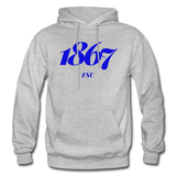 Fayetteville State University Rep U Year Adult Hoodie - heather gray