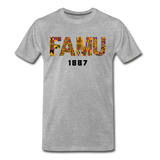 Florida A&M University (FAMU) Rep U Heritage T-Shirt - heather gray